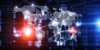 Globale voorzien van een netwerkzaken Royalty-vrije Stock Afbeeldingen