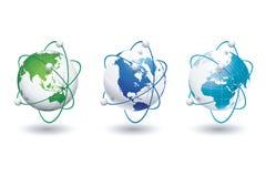 Globale Welt Lizenzfreie Stockbilder