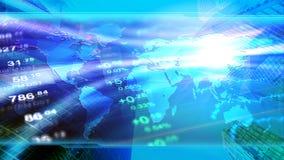 Globale Wirtschaft, Finanzierung, Geschäft, investieren Tapete Lizenzfreie Stockfotografie
