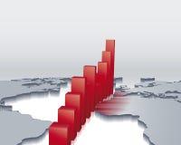 Globale Wirtschaftlichkeit Stockbild