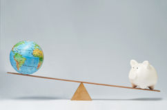 Globale Zaken Stock Foto's