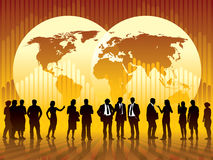 Globale zaken Stock Fotografie