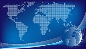 Globaler Auslegunghintergrund Lizenzfreie Stockbilder