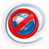 Globaler eMail-Schutz Lizenzfreie Stockfotos