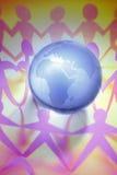 Globaler Frieden Stockfoto
