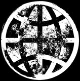 Globaler Grunge Hintergrund Stockbild