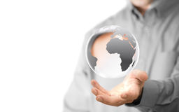 Globaler Hintergrund Stockfotografie