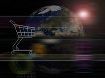 Globaler Hintergrundserien Handel Lizenzfreie Stockbilder