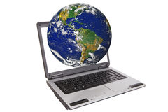 Globaler Internetanschluss Lizenzfreie Stockfotografie