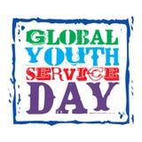 Globaler Jugend-Service-Tag Stockfoto