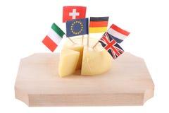 Globaler Käse lizenzfreies stockbild