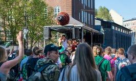 Globaler Marihuana-Sumpf nahe Christiania Kopenhagen Lizenzfreies Stockfoto
