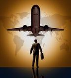 Globaler Reisender des Geschäfts stock abbildung