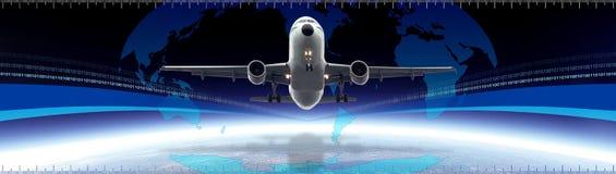 Globaler Transportvorsatz Lizenzfreie Stockfotografie