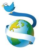 Globaler Vogel Lizenzfreies Stockbild
