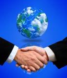 Globales Bündnis Stockbild