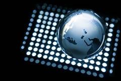 Globales Blau Lizenzfreie Stockbilder