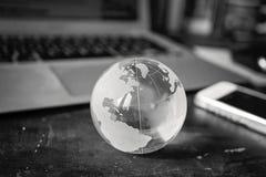 Globales Blau Lizenzfreies Stockfoto