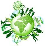 Globales eco. Lizenzfreies Stockbild