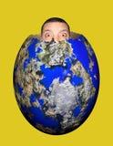 Globales Ei Stockfotografie