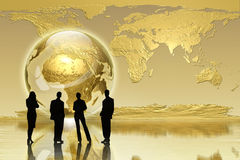 Globales Erzeugung - Geschäftsausgabe Lizenzfreie Stockfotos