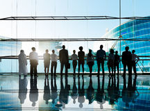 Globales Firmenkundengeschäft Team Vision Mission Concept Lizenzfreie Stockfotografie