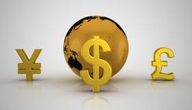 Globales Geschäft Lizenzfreie Stockbilder