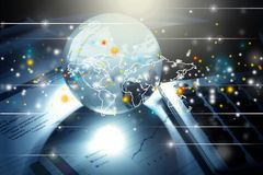 Globales Geschäft Stockbild