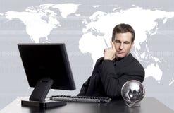 Globales Geschäft exec Lizenzfreies Stockbild