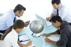 Globales Geschäft ist über Vision Stockfoto