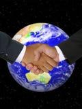 Globales Geschäfts-Abkommen lizenzfreies stockfoto