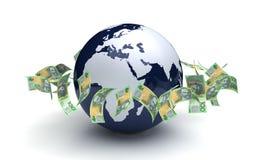 Globales Geschäfts-Australier-Währung Stockfotografie