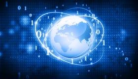 Globales Geschäfts-Netz Stockfotos