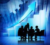 Globales Geschäftstreffen Lizenzfreies Stockbild