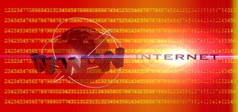 Globales Internet Lizenzfreie Stockfotos