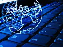 Globales Internet lizenzfreie stockfotografie