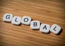 Globales Konzept Stockfotos
