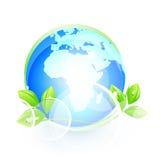 Globales natürliches Symbol Lizenzfreie Stockfotografie