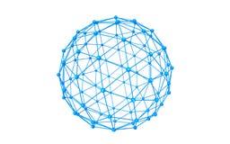 Globales Netzwerk Lizenzfreie Stockfotografie