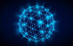 Globales Netzwerk vektor abbildung