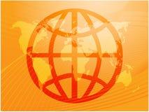 Globales Symbol Lizenzfreie Stockbilder