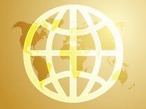 Globales Symbol Lizenzfreie Stockfotografie