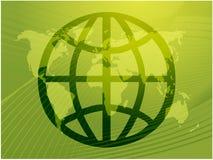 Globales Symbol Stockfoto
