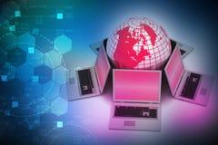 Globales Vernetzungssystem Lizenzfreie Stockfotografie