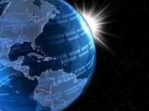 Globalisering stock illustratie