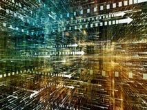 Globalisering av den Digital världen Arkivfoton