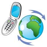 Globalisierte Kommunikation Lizenzfreies Stockbild