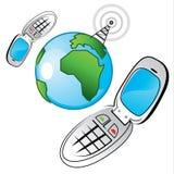Globalisierte Kommunikation Lizenzfreie Stockfotos