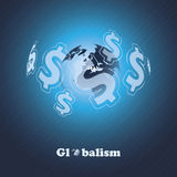 Globalism - Design Concept Royalty Free Stock Image