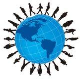 Globalización Imagen de archivo libre de regalías